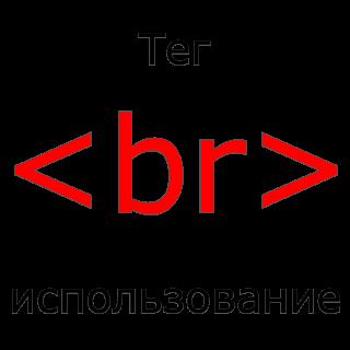 Применение тега br в HTML