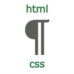 Абзацный отступ в HTML